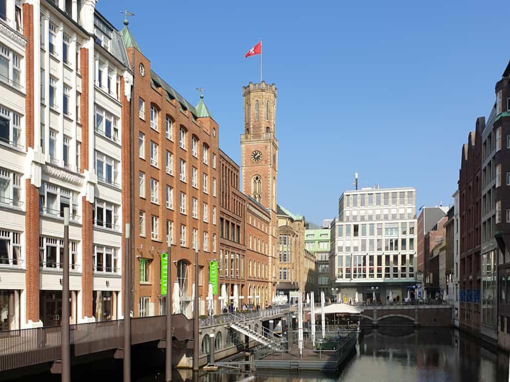 Blick in Fleet an der Alten Post - Foto: Follow Me Hamburg