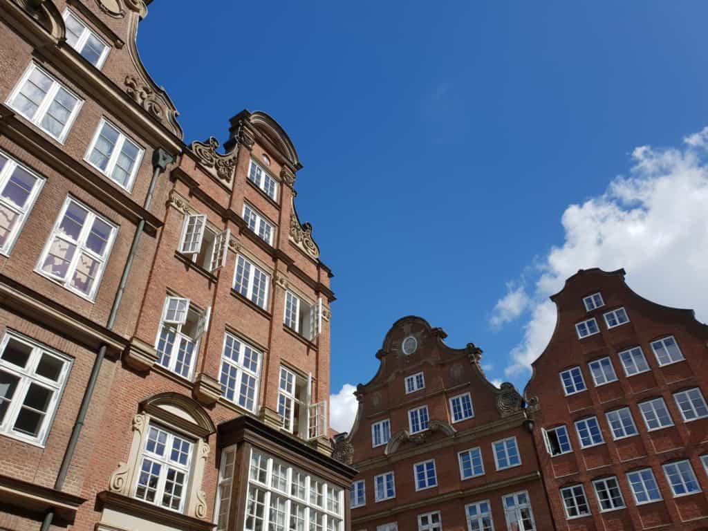 Barokke Fassaden im Komponistenquartier (Neustadt)- Foto: Follow Me Hamburg