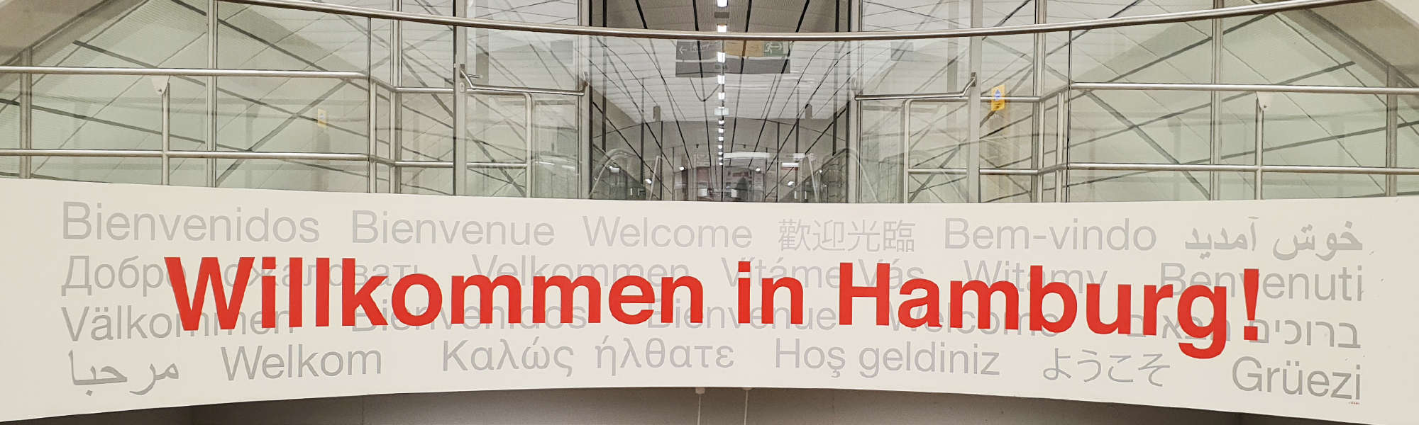 Hamburg Willkommen Flughafen | FollowMe Hamburg