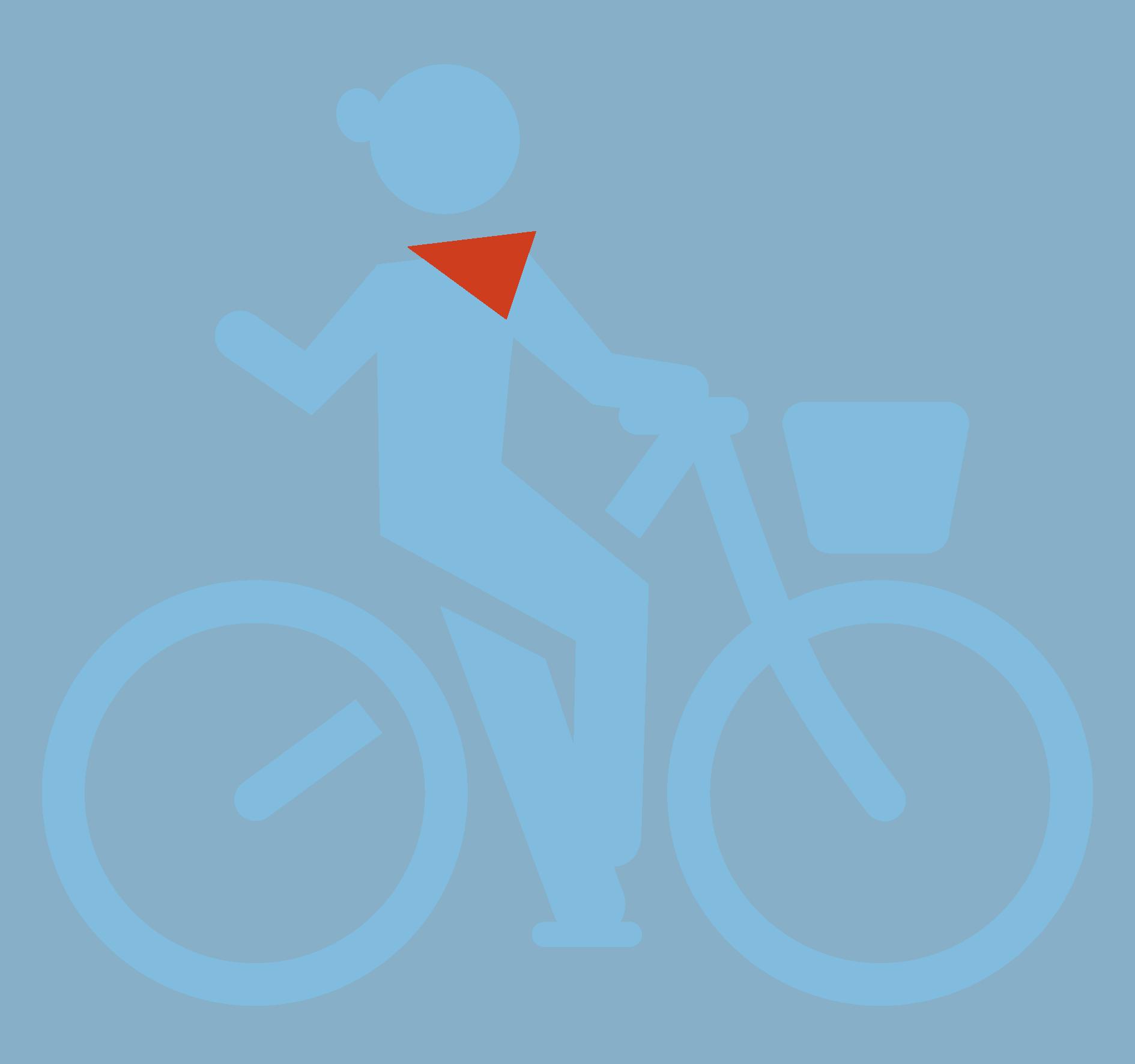 Logo FOLLOW ME Hamburg - Figur Touren mit dem Fahrrad